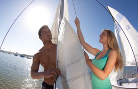Sailing people