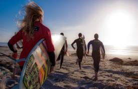 Running Surfers