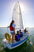 Keelboat Sailing