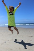 Surf Camper Jumping