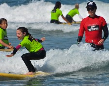 Multi-level surfing