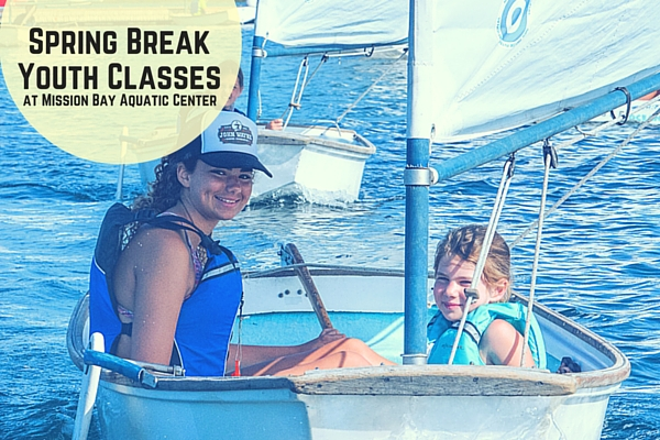 spring break youth sailing