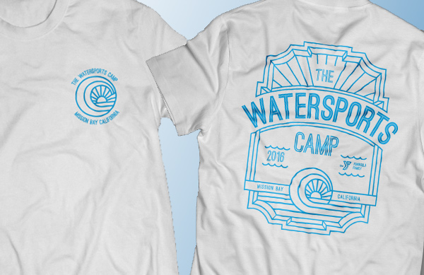 2016 camp shirt design