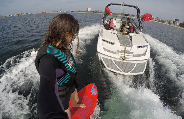 Wakesurfing now avaiable at camp!