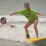 youth surfing