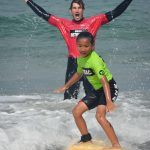 Catching a wave at The Watersports Camp