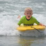 Bodyboarding at The Watersports Camp