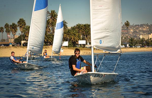 Sailing in semester long class