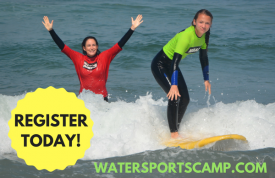 Surfer at The Wqtersports Camp