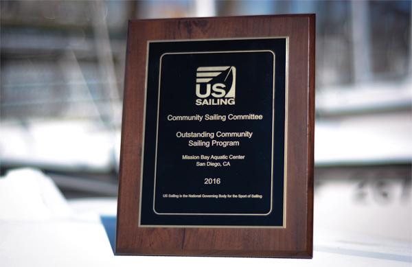 US Sailing Outstand Community Sailing Program
