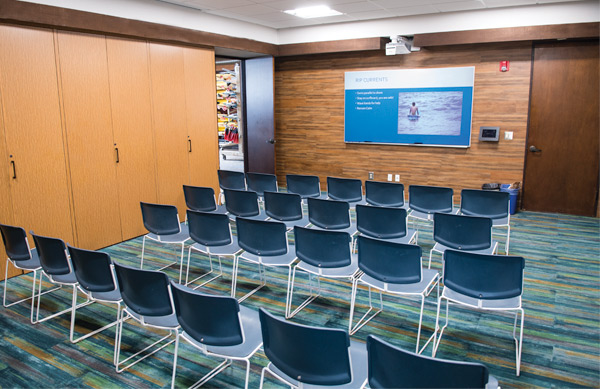 New MBAC classroom