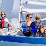 Make the most of your time on the water with a blended learning Basic Keelboat Certification Course