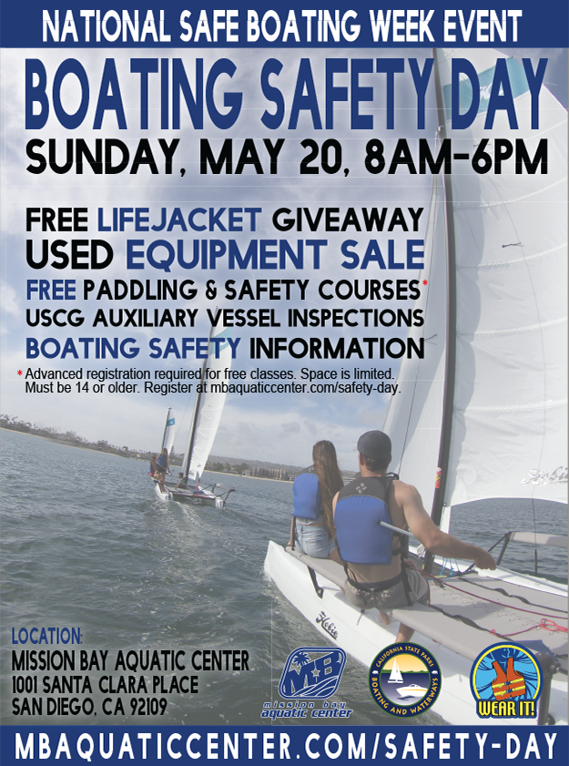 Boating Safety Day May 20, 2018