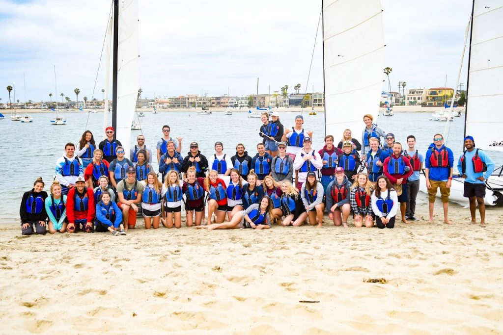 MBAC camp staff sail training