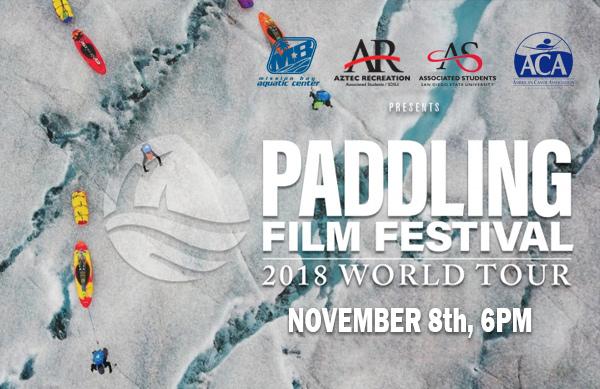 Paddling Film Festival World Tour November 8th