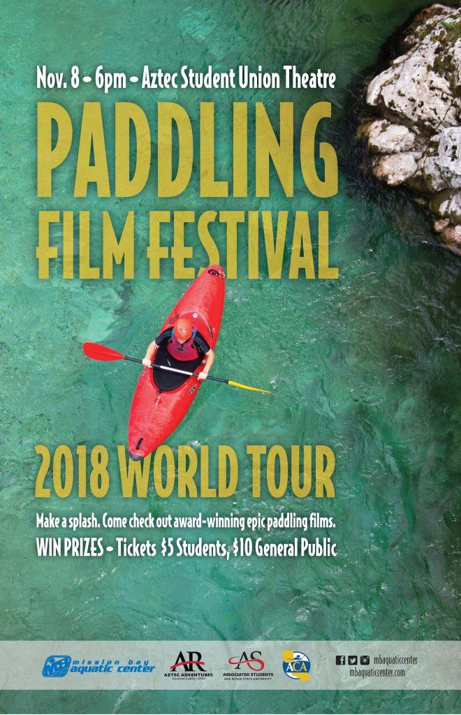Paddling Film Festival Poster