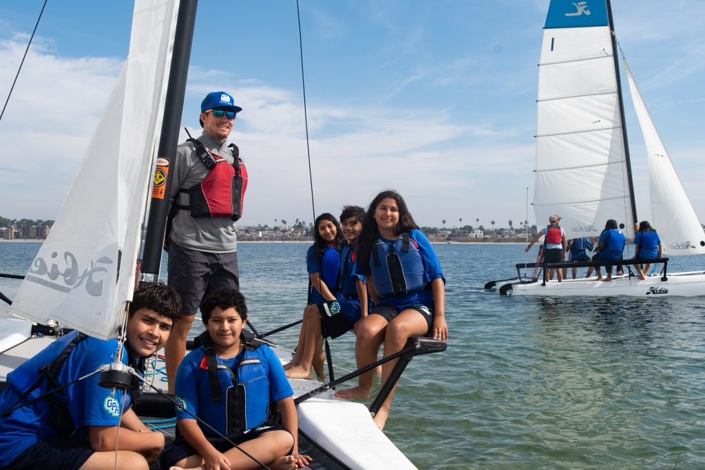 Gompers Academy sailing